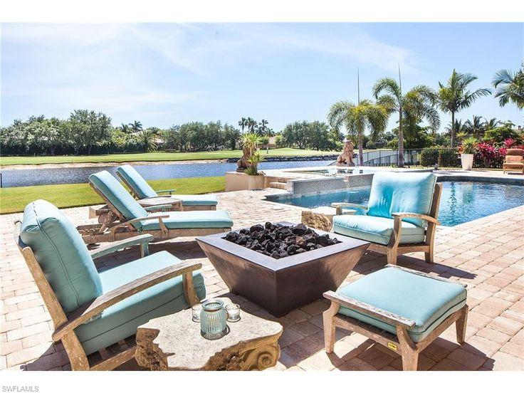 6072 Sunnyslope Dr, Naples, FL 34119 | Fireside Chat In Quail West