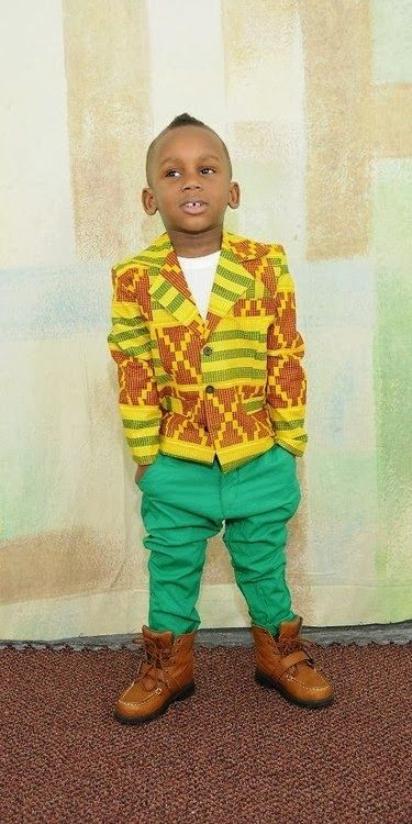 Ankara Jacket for cute Kids