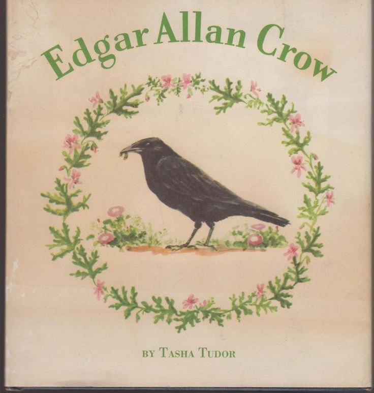 Rare 1st Ed VG HC/dj Edgar Allan Crow 1953 Tasha Tudor Oxford University Press