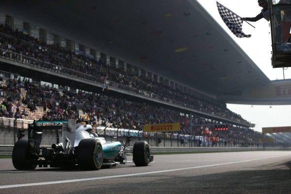 Formule 1 : L.Hamilton s'adjuge le G.P de Chine 2015