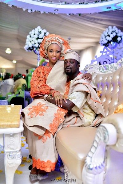 Bellanaija Bride Lani Amp Groom Deji Makeup By Banke Meshida