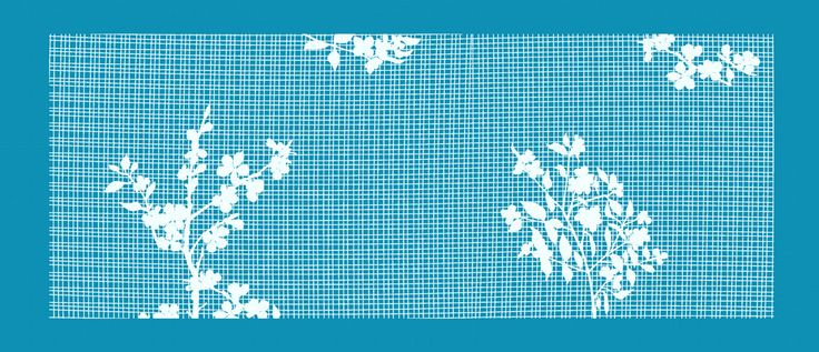 Mesh stencils for cakes, cookies, cupcakes and crafts. New by Crystal Candy- Enchanted forest