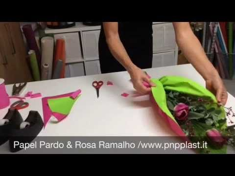Packaging gift wrapping-Ramo rápido para dia da Mãe - YouTube