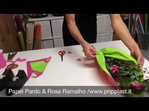 Packaging gift wrapping-Ramo rápido para dia da Mãe - YouTube