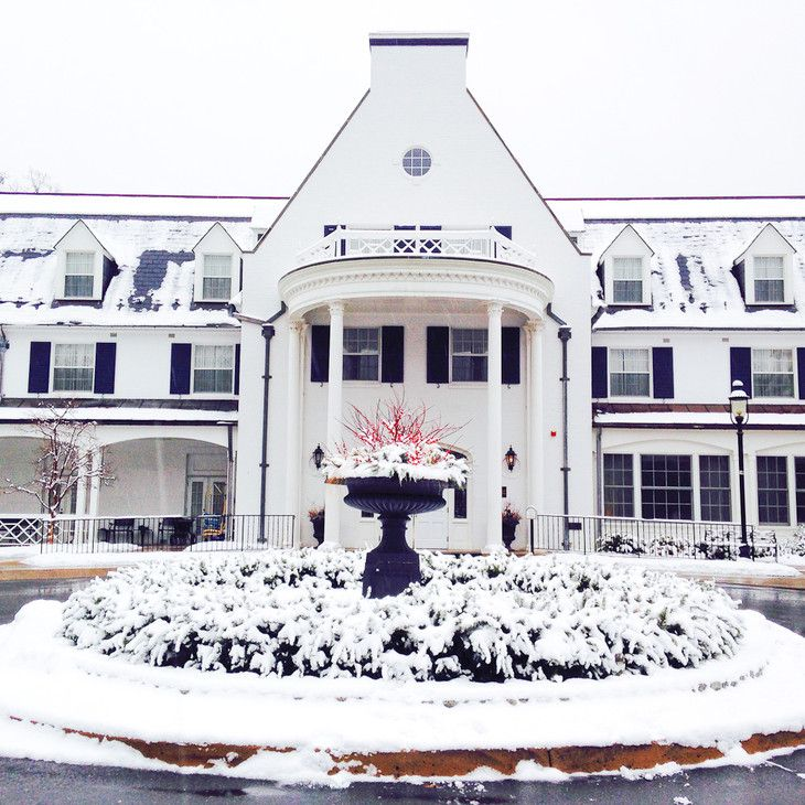 The Nittany Lion Inn - Just Beautiful in the snow!