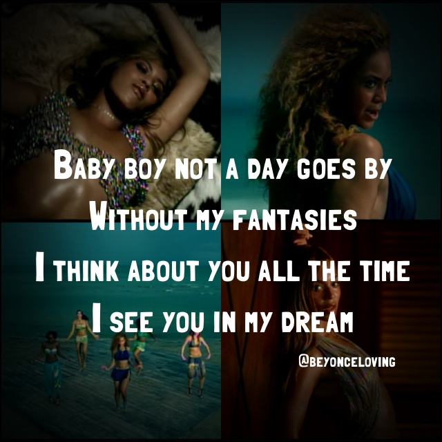 Beyonce song lyric: She was so good back then.