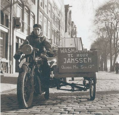 wasmachine te huur per dagdeel amsterdam 1952