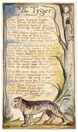 "The Morgan Library & Museum Online Exhibitions - William Blake's World: ""A New Heaven Is Begun"" - The Tyger"
