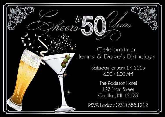 Adult photo invitations