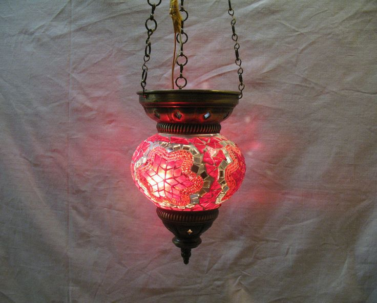 Moroccan lantern mosaic hanging lamp lampe mosaique lampada turca candle 088 #Handmade #Moroccan