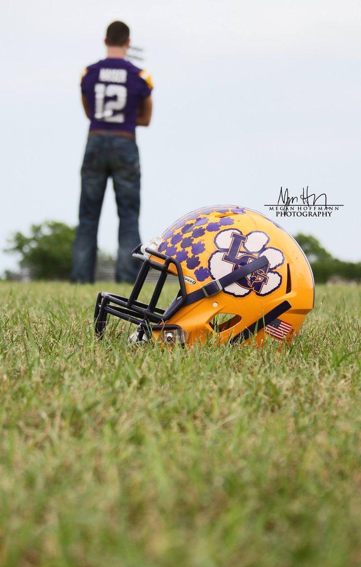 Male senior pictures. Football senior pictures. Boy senior photo idea. Football helmet. Varsity.