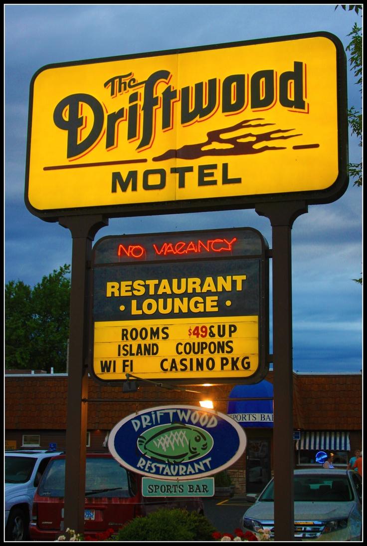 Driftwood motel, St Ignace MI
