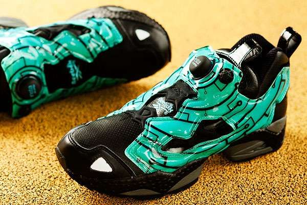 The Reebok Insta Pump Fury Tron Sneaker is Inspired by the Movie #Pop Culture trendhunter.com