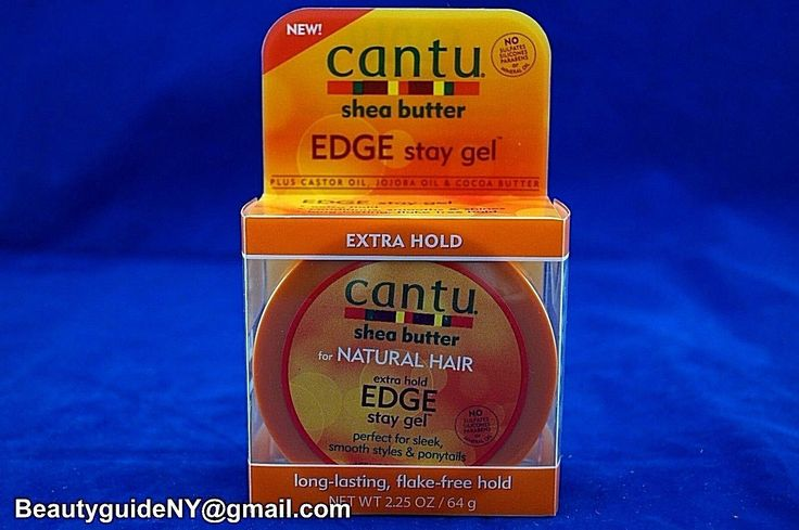 Cantu Shea Butter Edge Stay Gel 2.25Oz