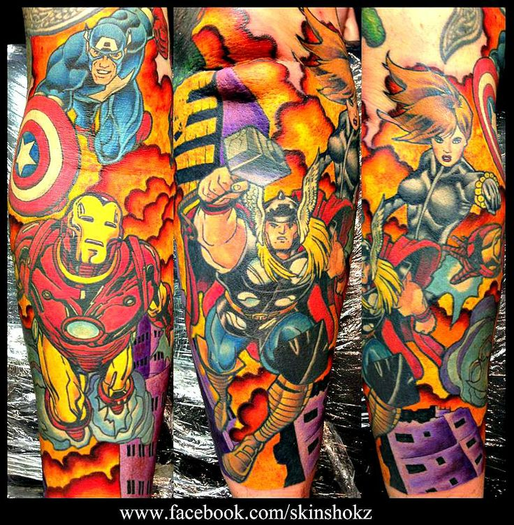 Free Comic Book Day Dubai: 17 Best Images About Tattoos On Pinterest