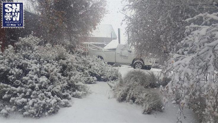 12 May 2017: Snow Photos   Snow Report SA