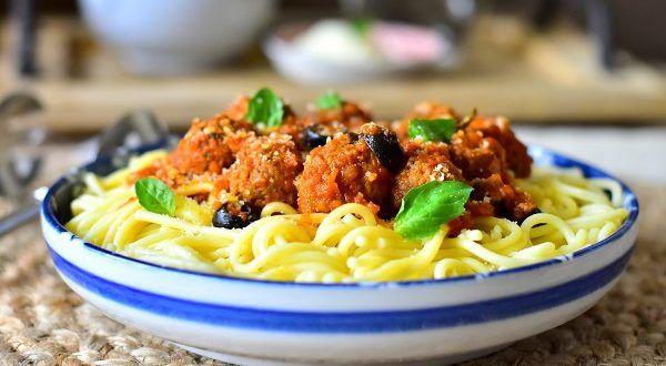 Spaghetti aux boulettes de viande a l'italienne | Le Blog cuisine de Samar