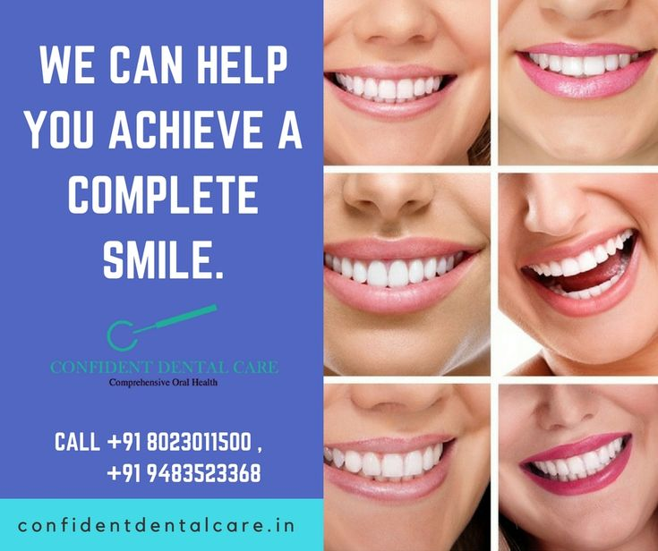 The team of experienced & skilled dentists at Confident dental care is committed to your dental wellbeing. Visit Us- http://confidentdentalcare.in/ Call- +91 8023011500, +91 9483523368 #DentalCare #Dentist #DentalclinicinBangalore #confidentdentalcare #Experienceddentist #Smiles