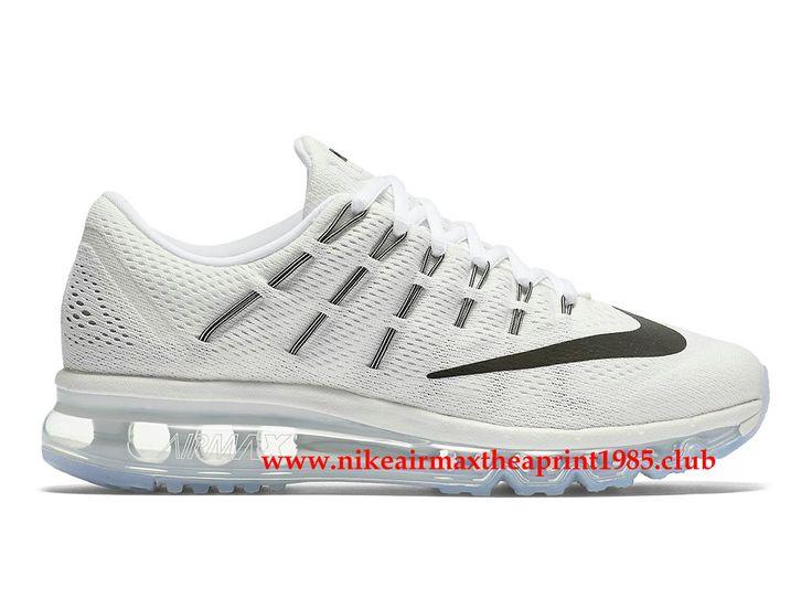 Nike Air Max 2016 GS Chaussures de sport 806772_100 Tout blanc Pour Femme-1704200197 - Boutique Nike Vendre Chaussures Air Max Pas Cher,Livraison Gratuite!
