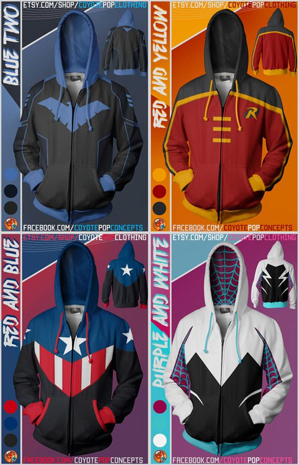 Superhero Hoodies