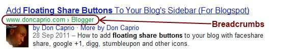 How to Add BreadCrumb To Increase To Your Blog  SEo