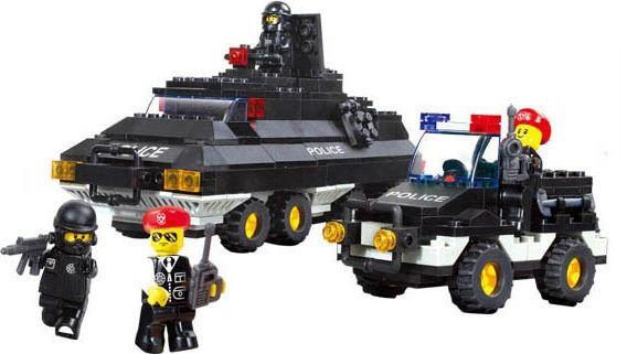 Sluban 38-B2000 Военная полиция: Джип и бронетранспортёр