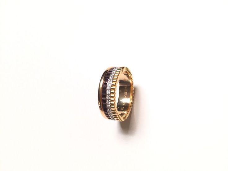Authentic Boucheron Quatre Classique Ring
