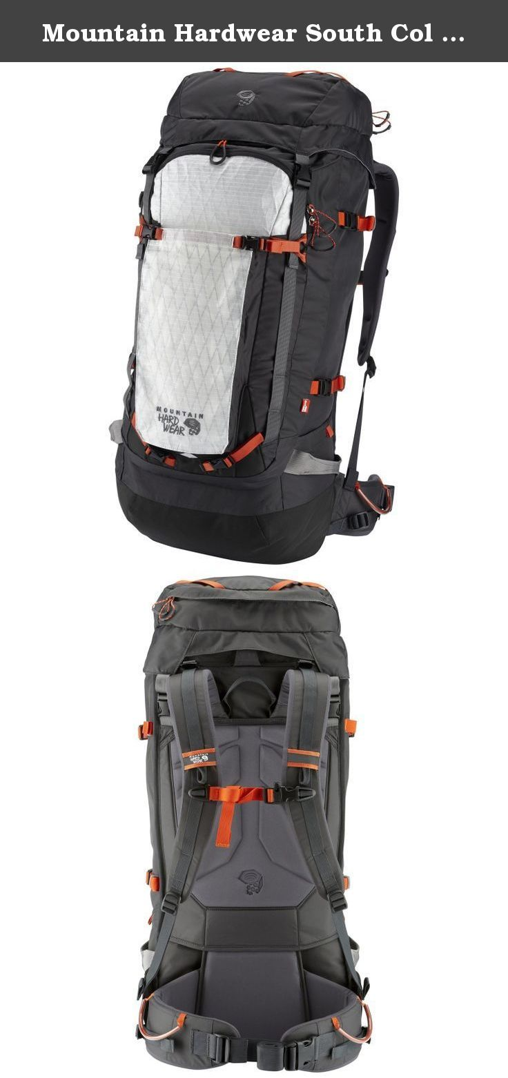 Mountain Hardwear South Col 70 OutDry Backpack - Shark Small/Medium. The one-pack solution for mountaineering expeditions on the world's highest peaks. The flexible design and highly evolved compression system lets you add and remove components as well as shrink and expand the pack as needed. OutDry construction bonds a durable waterproof membrane to the main compartment so that your gear stays safe and dry in even the wettest conditions.OutDry membrane construction main compartment keeps...