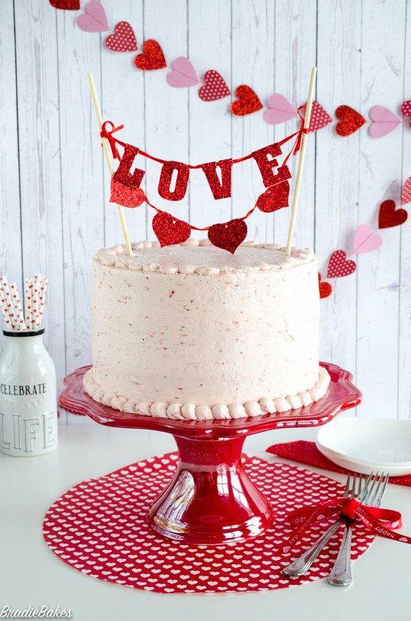 Valentine's Day cake - BradieBakes
