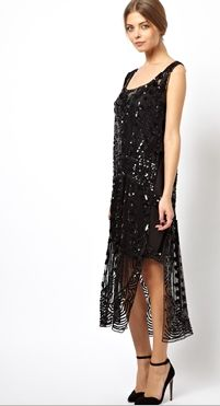 Asos Black Premium Embellished Tabbard Maxi Dress This Could Also Be A Cute Choice For