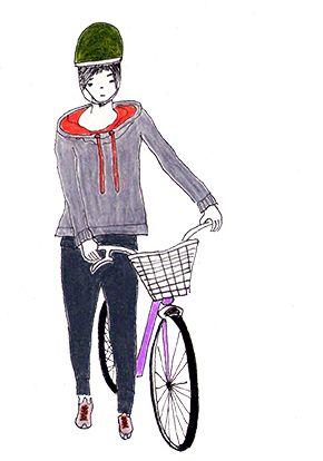 Ciclistas Urbanos . Alexandra Forero