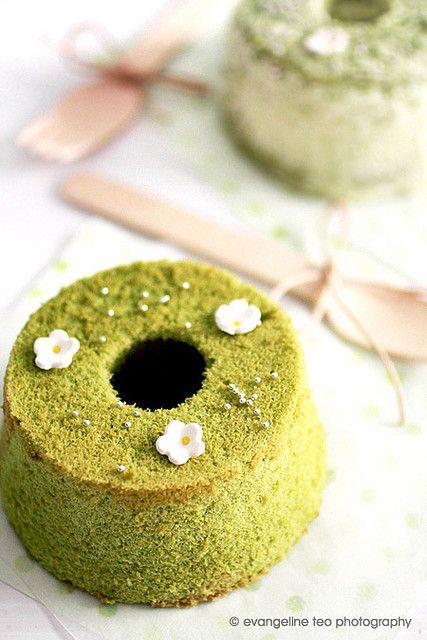 Green tea / Matcha desserts cake