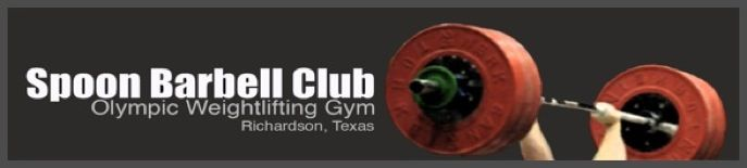 In 1974 The Spoon Barbell Club was established in Richardson, Texas by Tom Witherspoon. Over the years the club has produced many notable lifters, including Olympians Sam Walker (Montreal 76), Chad Vaughn (Athens 2004, Beijing 2008), as well as National Sr. Champions: Sam Walker, Chad Vaughn, Gary Deal and Jim Napier, Also National Master Champions: Jed Harris, Melissa Knourek, James Aftosmis, and Gary Deal.  The Spoon Barbell Club placed 2nd as a team at the 1977 Senior Nationals  The Spoon…