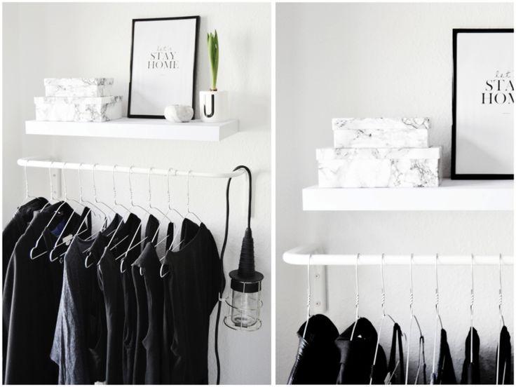 HOME PICS: MY TINY CLOTHING RACK