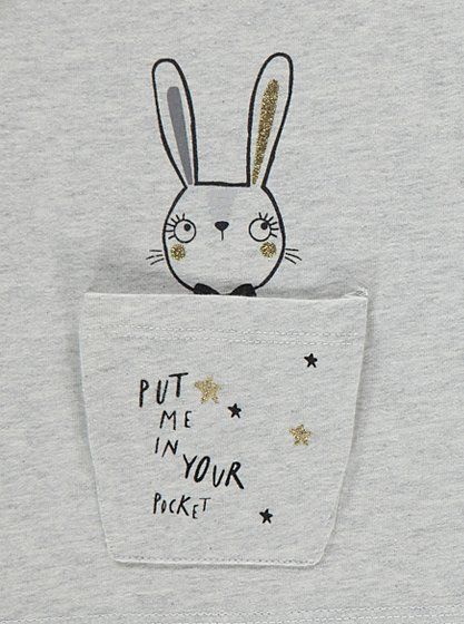 Bunny Pocket Top, read reviews and buy online at George. Shop from our latest range in Kids. Make an adorable addition to their after-school edit with this l...