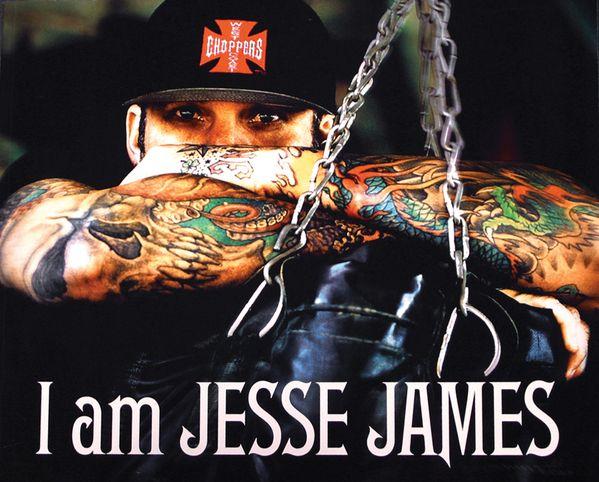 West Coast Choppers :: I Am Jesse James by Dave McClain, via Behance