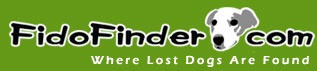 Fido Finder is the largest public database of lost dogs. Lost dog owners and lost dog finders can post classified ads, search listings, print posters, and receive automated email notifications when matching dogs are registered on the website. Start by searching our lost or found dog listings, then proceed to register your lost or found dog to add the dog to our database and begin receiving email updates.