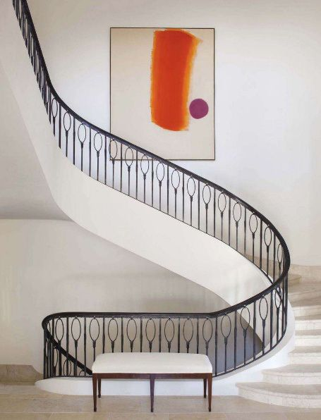 Can you imagine descending these stairs in a 1950's Valentino gown?