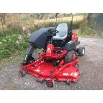 Used Toro Groundsmaster 3280-D. Only 214 hrs on the clock, 400 litre hi-tip collector, 4WD and with Kubota engine.  BUY NOW