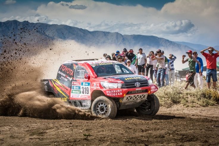 DAKAR 2016 – MIXED FORTUNES FOR TOYOTA GAZOO RACING SA ON DAKAR 2016 STAGE 8 - https://3d-car-shows.com/dakar-2016-mixed-fortunes-for-toyota-gazoo-racing-sa-on-dakar-2016-stage-8/ BELÉN, ARGENTINA –  Stage 8 of Dakar 2016 brought mixed results for Toyota Gazoo Racing SA, though all three Toyota Hilux race vehicles made it safely through the tough, 393 km route between the Argentine city of Salta and the town of Belén. The stage was eventually won by Nasser Al-Attiyah