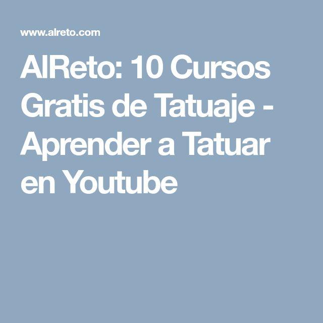 AlReto: 10 Cursos Gratis de Tatuaje - Aprender a Tatuar en Youtube