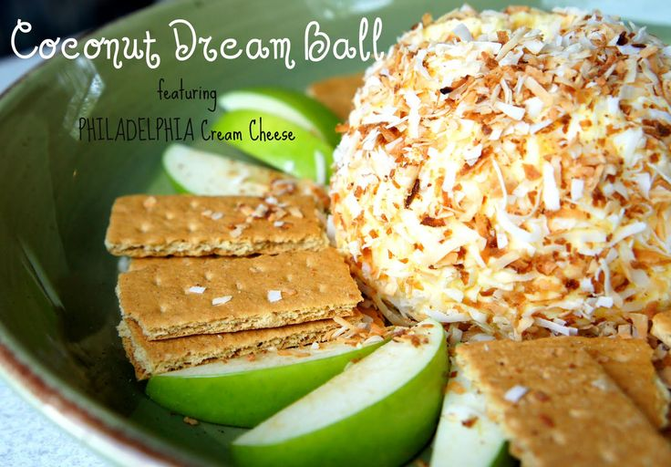 Coconut Cream Cheese Ball - I Wash... You Dry