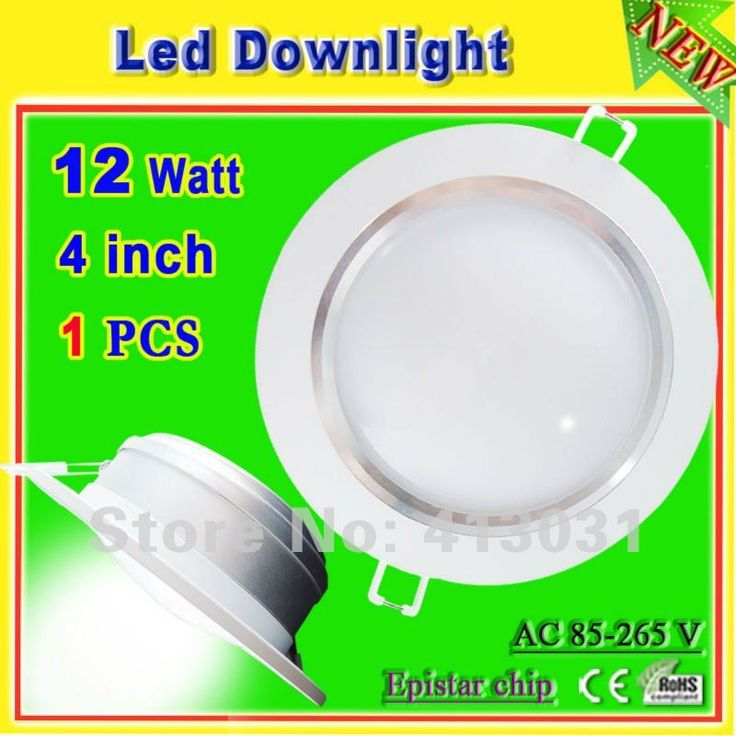Aluminum Profile 12w led downlight kits white shell with power driver 12 watt ac 85 265v recessed Lamparas De Techo Led CE ROHS-in Industrial Lighting from Lights & Lighting on Aliexpress.com | Alibaba Group