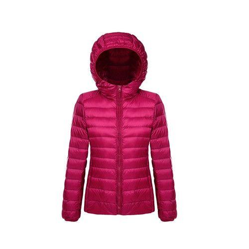 Women Ultra Light Down Jacket Hoodie Winter Coat Women Portable Parka Jackets Customized casaco de inverno parkas mujer