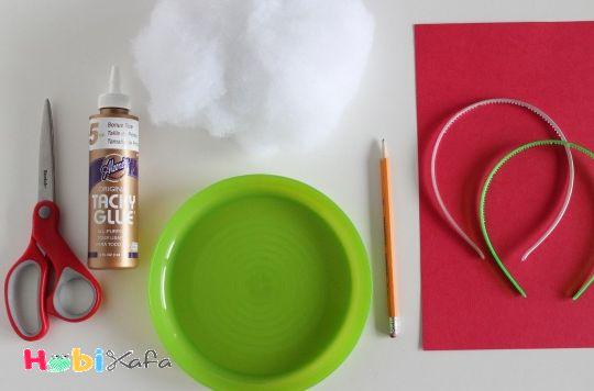 Noel baba şapkası yapılışı - Hobikafa.com