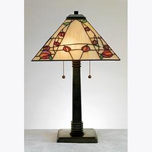 TF6839VB Quoizel  Macintosh Rose - Two Light Table Lamp