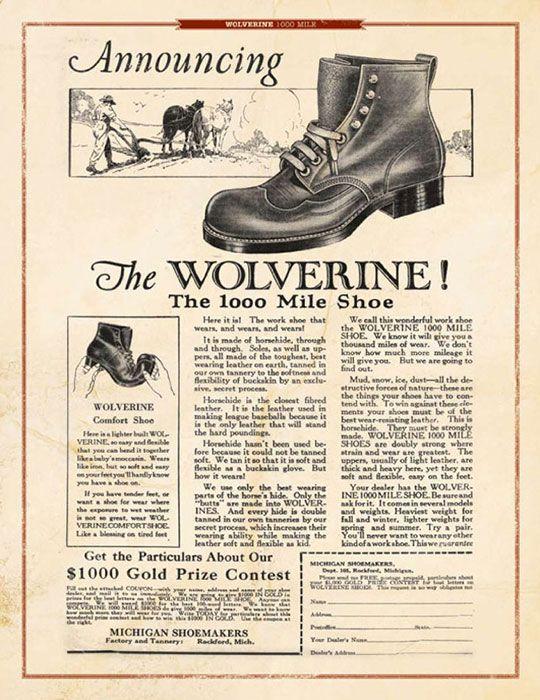 Wolverine 1000 Mile Addison Boot