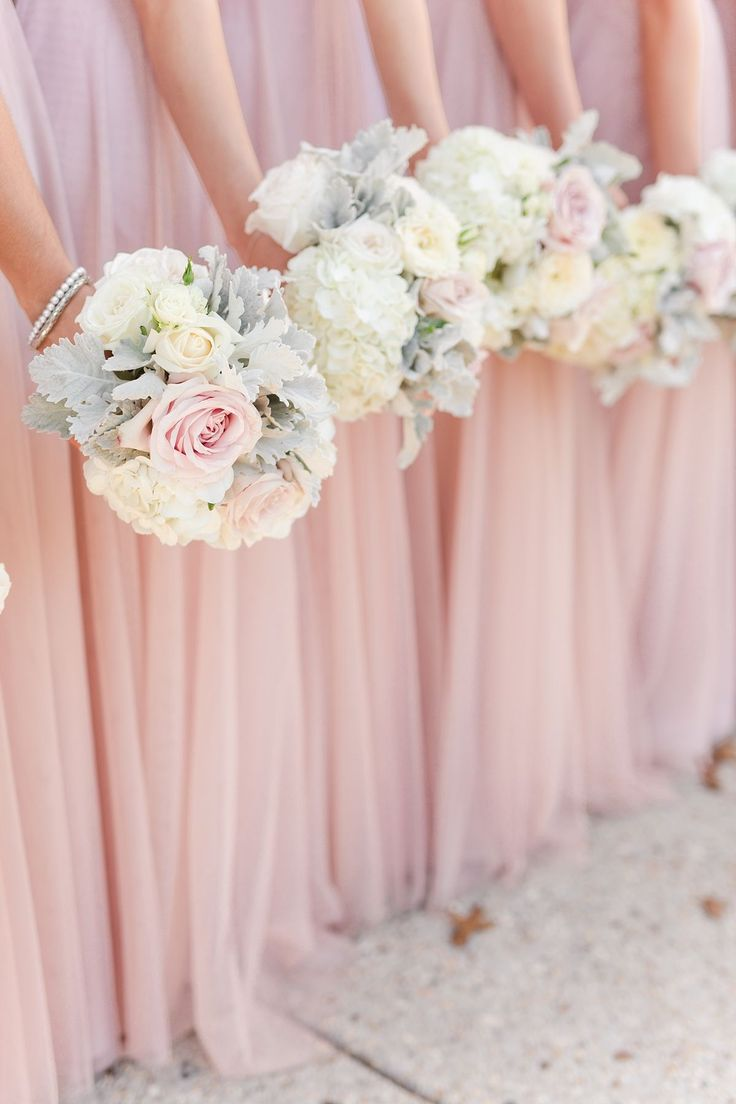The 25 best autumn bridesmaid dresses ideas on pinterest autumn bethesda country club autumn wedding with blush and ivory color palette floor length blush bridesmaid ombrellifo Images