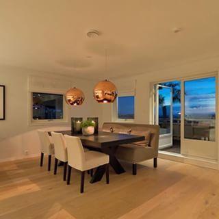 Beautiful dining room  Credit: @tinasprofile
