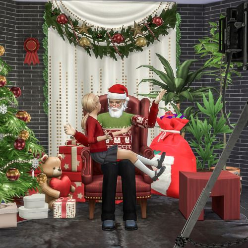 Christmas Decorations On Sims 3: 52 Curated Natal Sims 4 CP Ideas By Prisca09